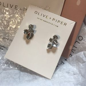 Olive and Piper Leah Studs